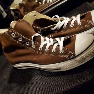 Brown Converse